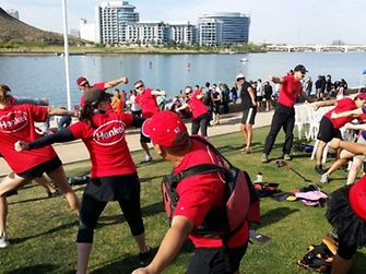 Henkel competed in and sponsored the Arizona Dragon Boat Festival the 10th year.
