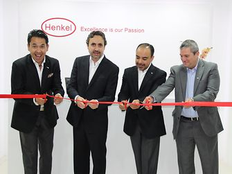 Traditional ribbon-cutting: Henkel in Guatemala opened a new corporate headquarters.