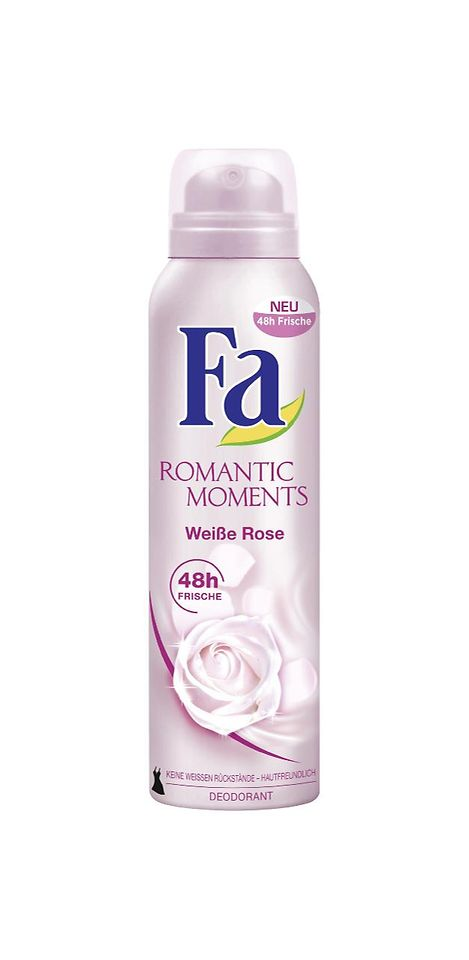Fa Romantic Moments Weiße Rose Deodorant