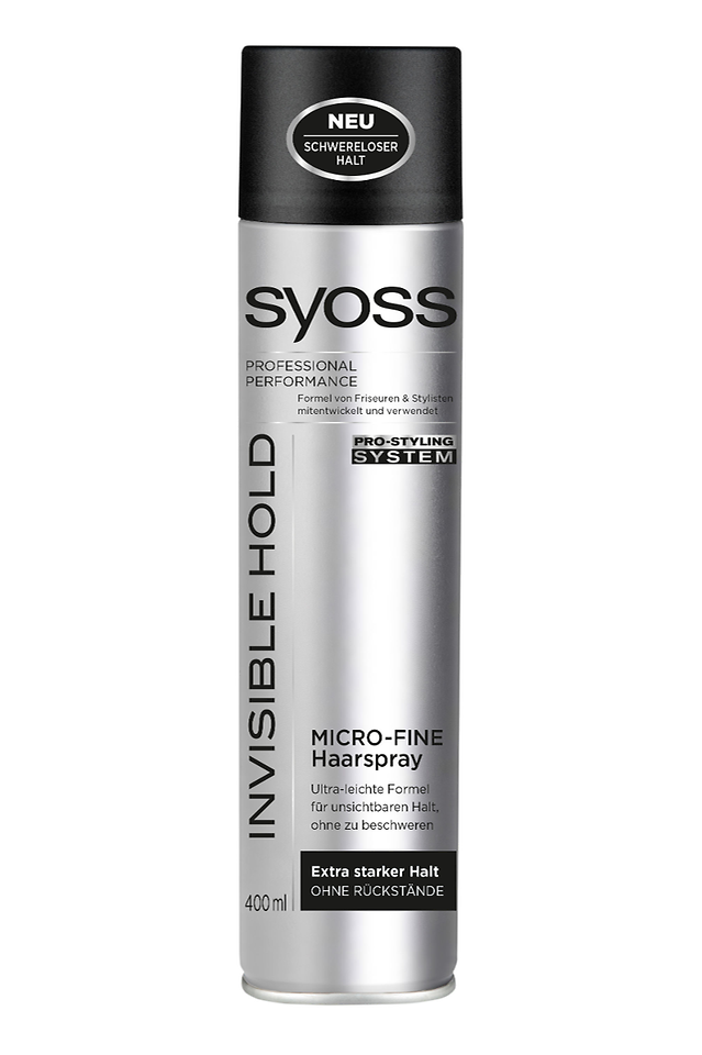 Syoss Invisible Hold Micro-Fine Fixation Haarspray