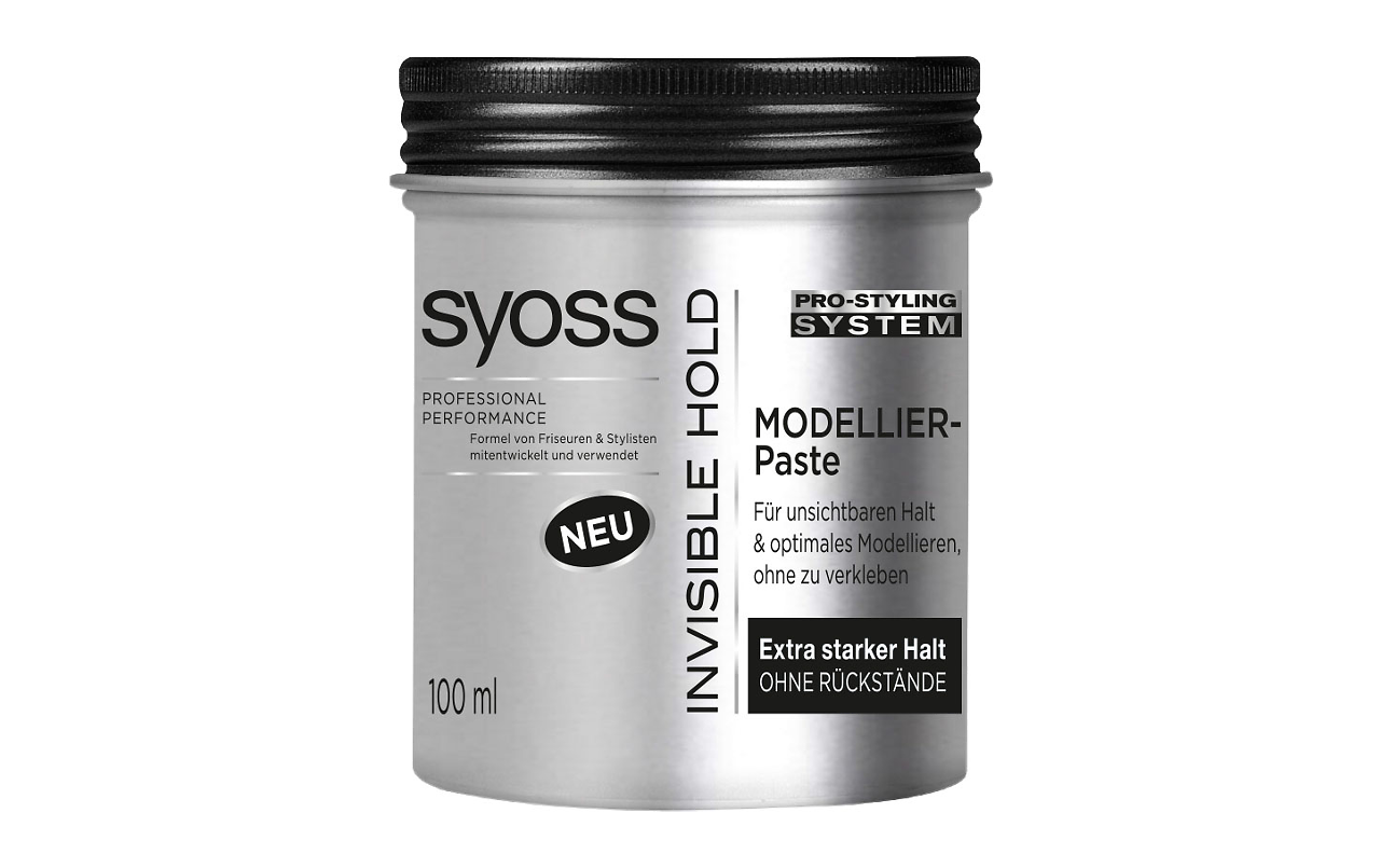Syoss Invisible Hold Modellier-Paste