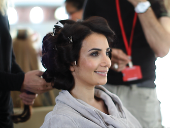 Impressions of the video shoot with Songül Öden for Schwarzkopf Palette in Turkey