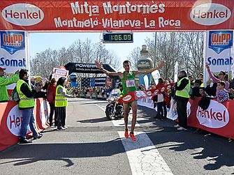 Henkel supported the popular Montornès half-marathon