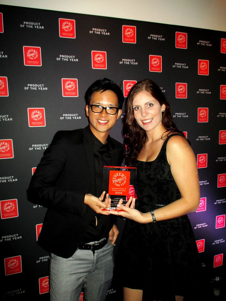 Recipients of the 2014 Product Of The Year Award for Best Hair Care on behalf of Henkel Beauty Care in Australia