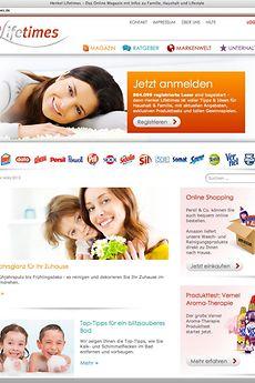 Das Online-Verbraucher-Portal Henkel Lifetimes von Henkel Laundry and Home Care gewinnt mit der Düsseldorfer Agentur menadwork kommunikation GmbH den Deutschen Preis für Onlinekommunikation 2013