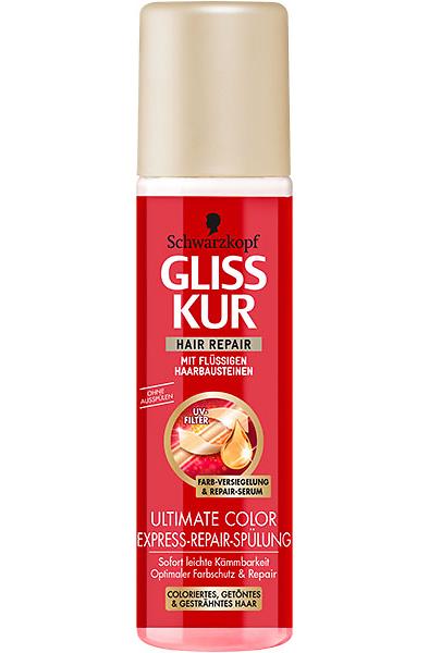 Gliss Kur Ultimate Color Express-Repair-Spülung