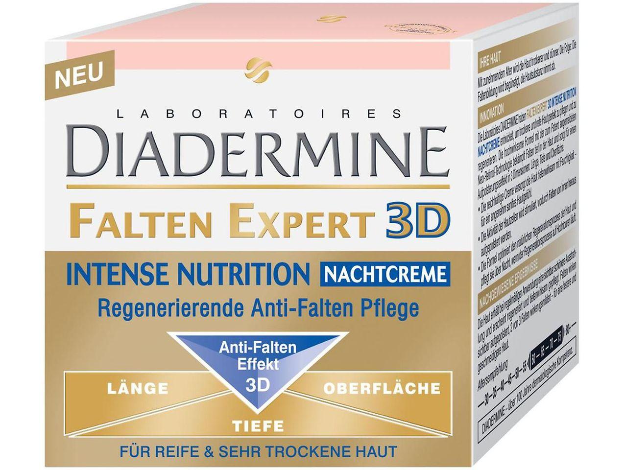 Diadermine Falten Expert 3D Intense Nurtition Nachtcreme