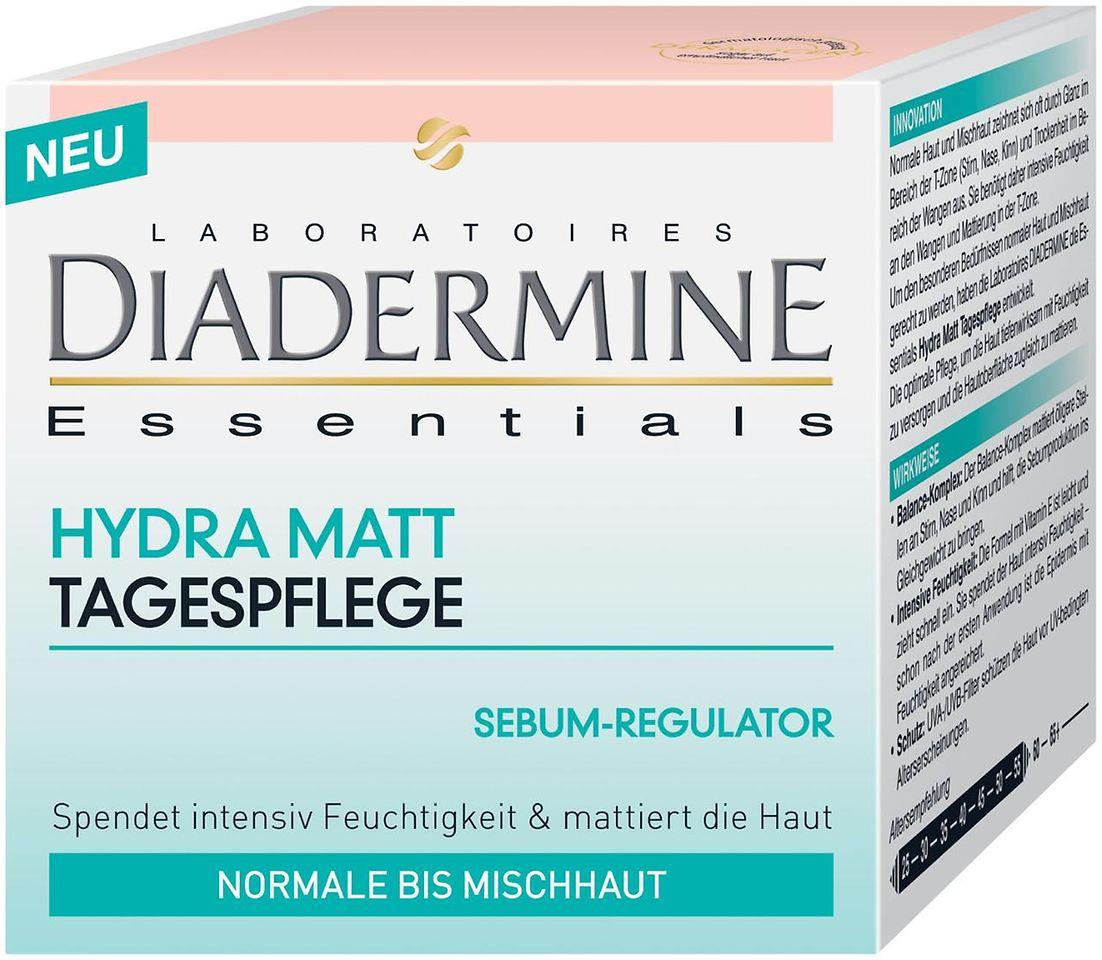 Diadermine Essentials Hydra Matt Tagespflege