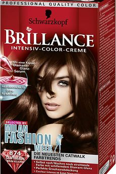 Brillance Milan Fashion Collection 874 Samtbraun