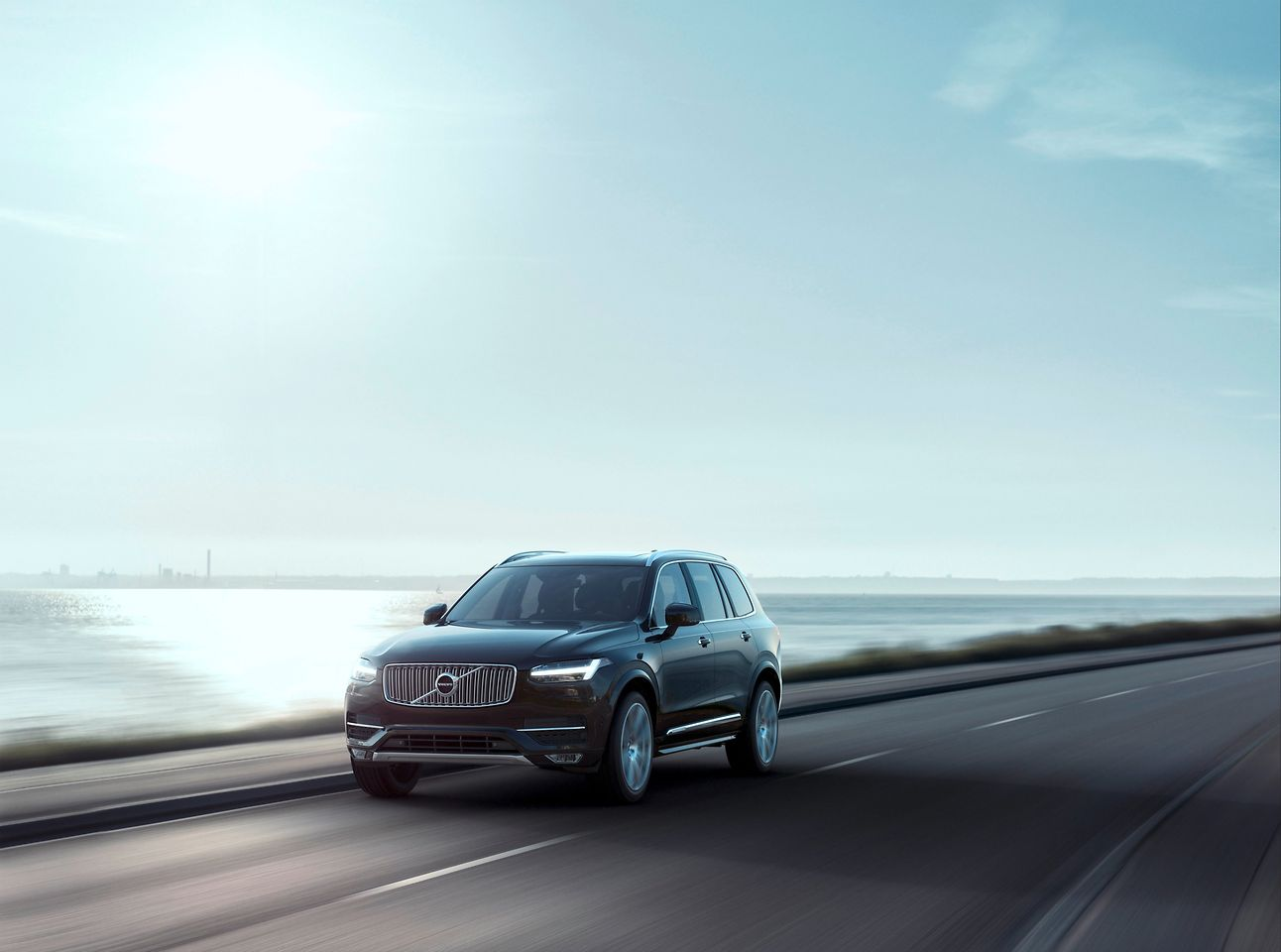 A fiber-reinforced composite leaf spring is being used in the chassis of the new Volvo XC90