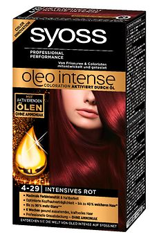 Syoss Oleo Intense 4-29 Intensives Rot