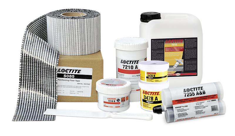 The Loctite product family for pipe repairs