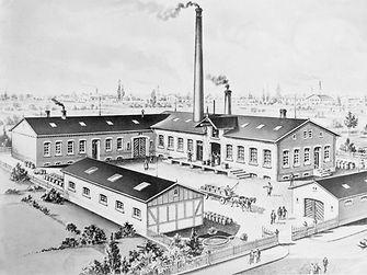 Zgrada na adresi Schuetzenstrasse u Düsseldorfu 1878.