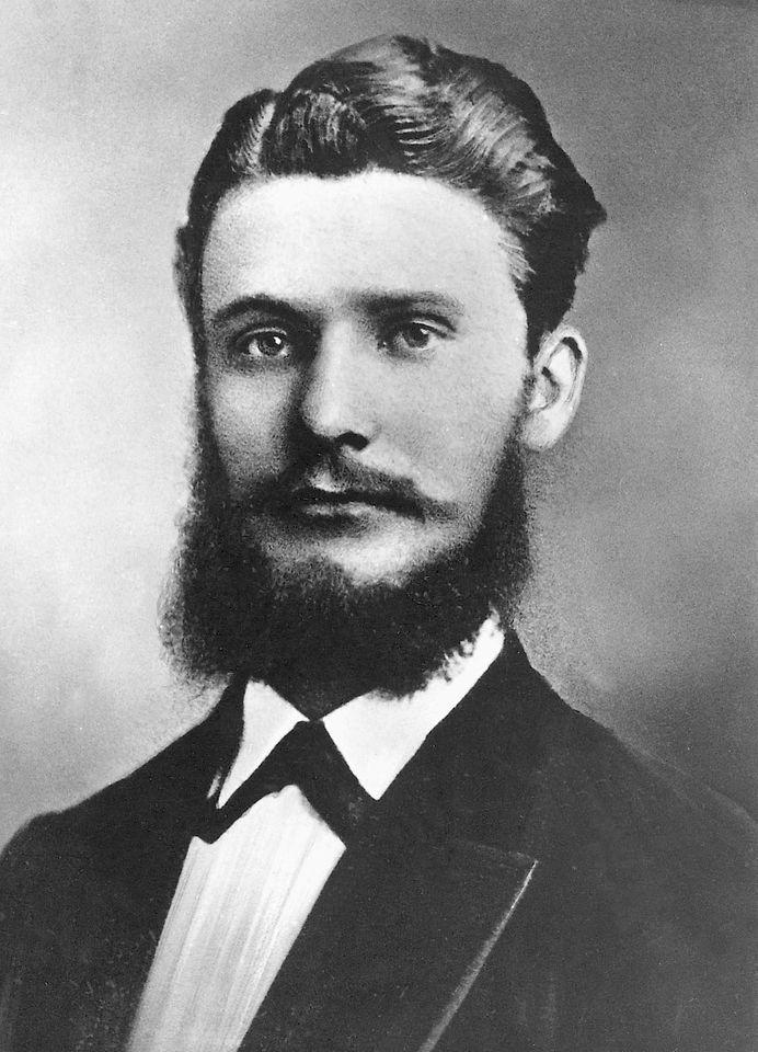 Fritz Henkel historical portrait