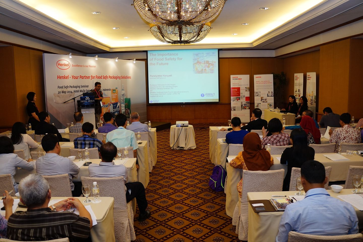 Two Food Safe Packaging Forums took place in Indonesia.