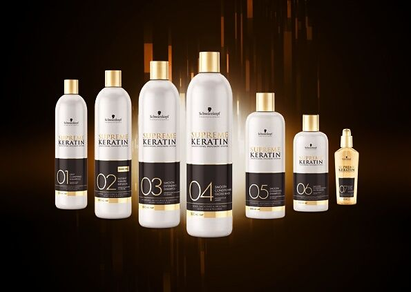 Supreme Keratin, Schwarzkopf Professional's first Smoothing Infusion System