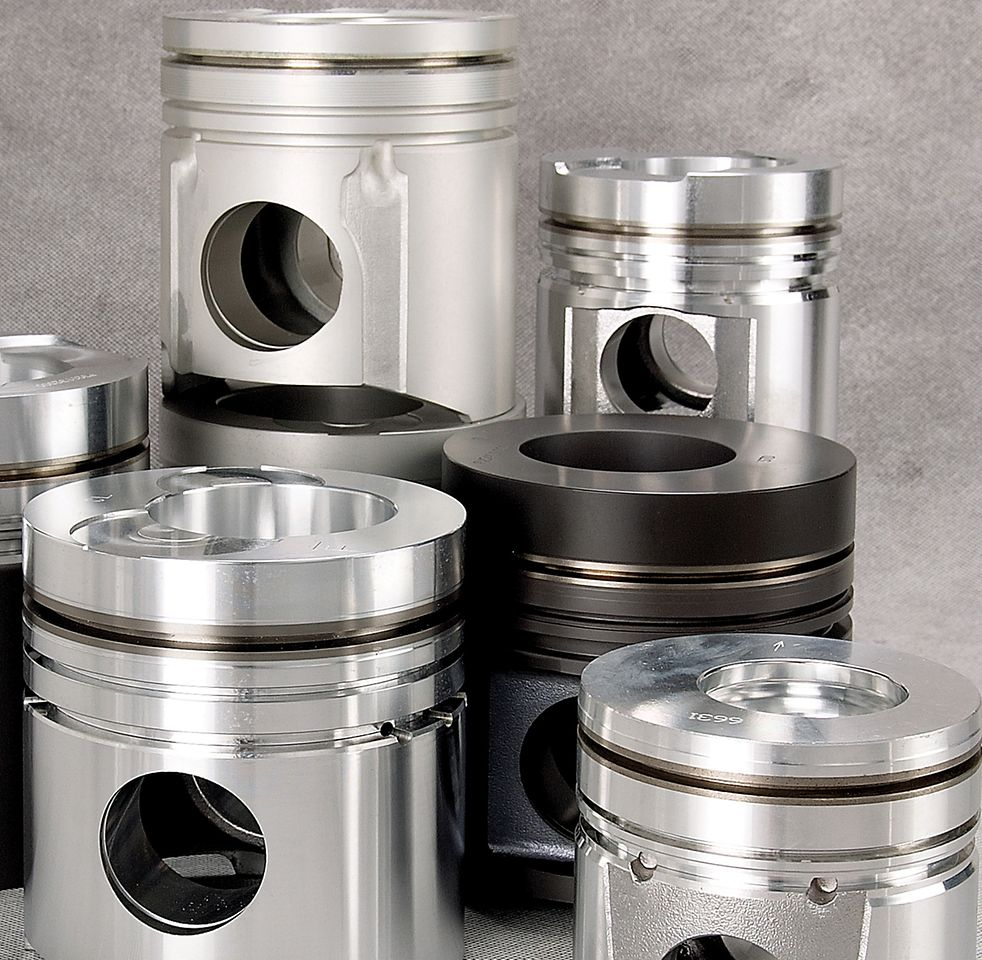 Henkel offers a select range of electro ceramic coatings suitable e.g. for the coating of IC engine pistons.