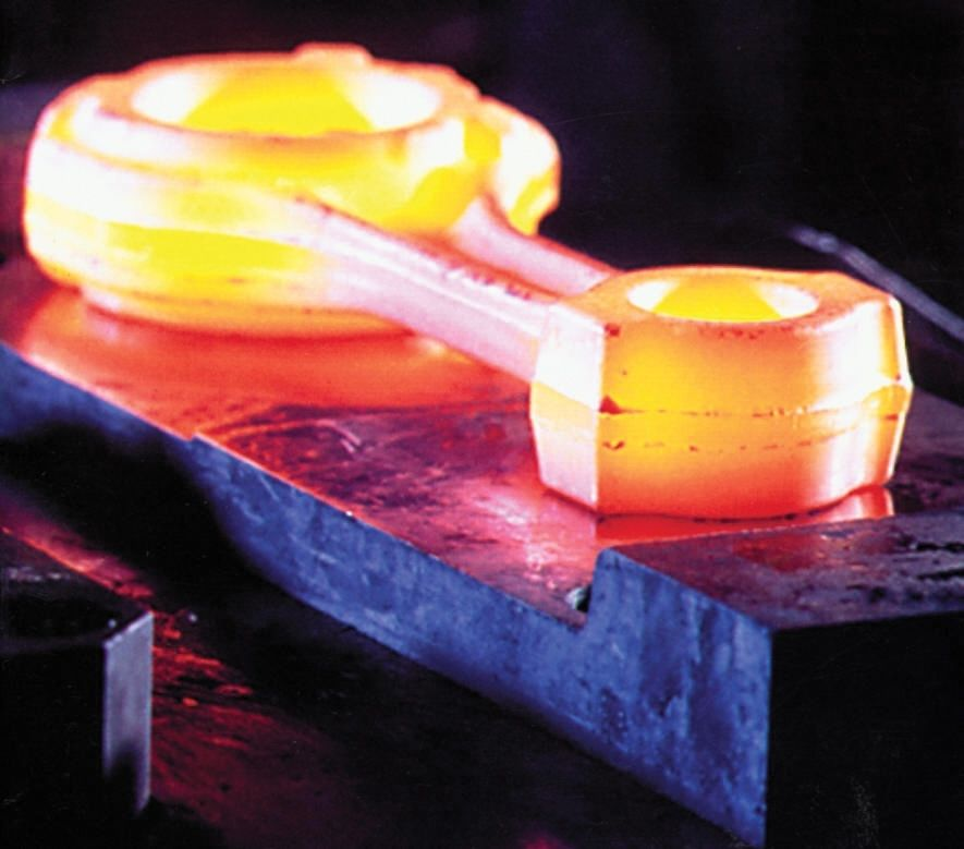 Forging lubricants are used in closed-die forging in order to ensure an optimal tool fill, controlled material flow and easy removal of the product from the die cavity