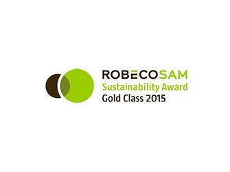 Винагорода «Золотий клас» від RobecoSAM за досягнення у сфері стійкого розвитку – логотип