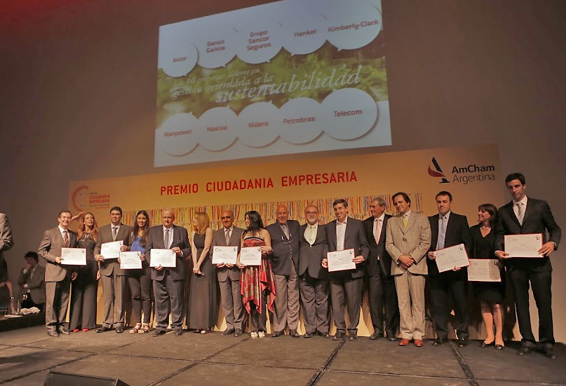 "Henkel Argentina was recognized as one of the ten leading companies in the category ""Sustainability-oriented Business Management"""