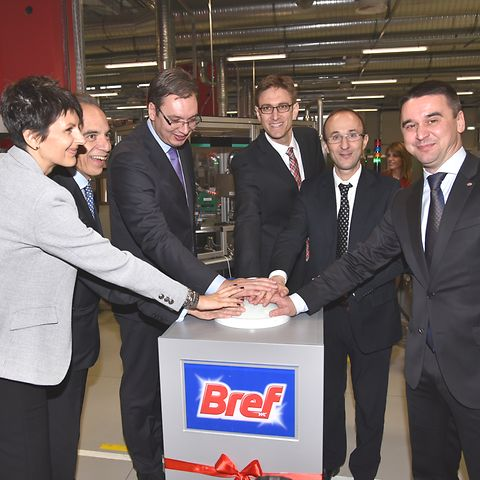 The new Bref factory in Kruševac, Serbia, will supply Bref toilet-care products to more than 20 regional and European markets.
