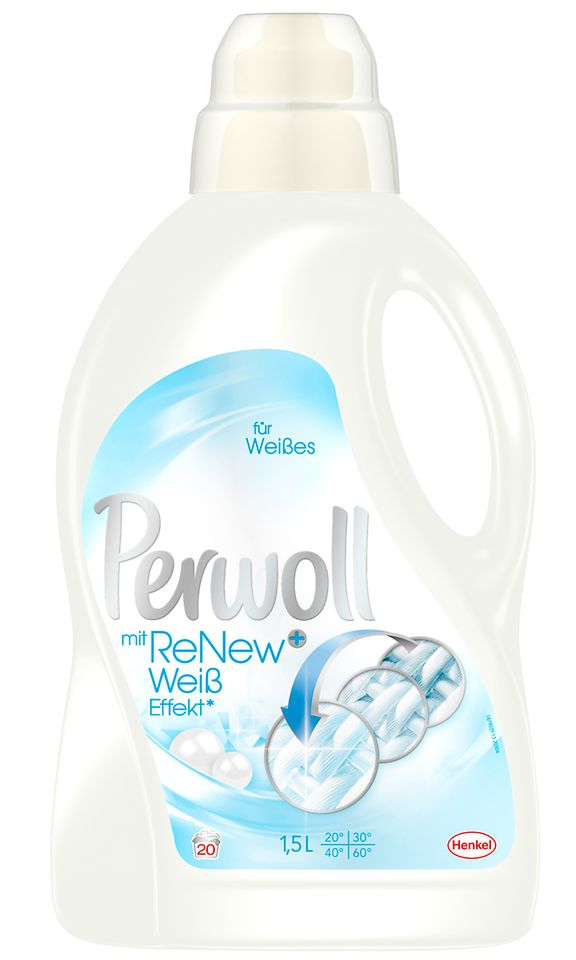 Perwoll mit ReNew+ Weiß-Effekt
