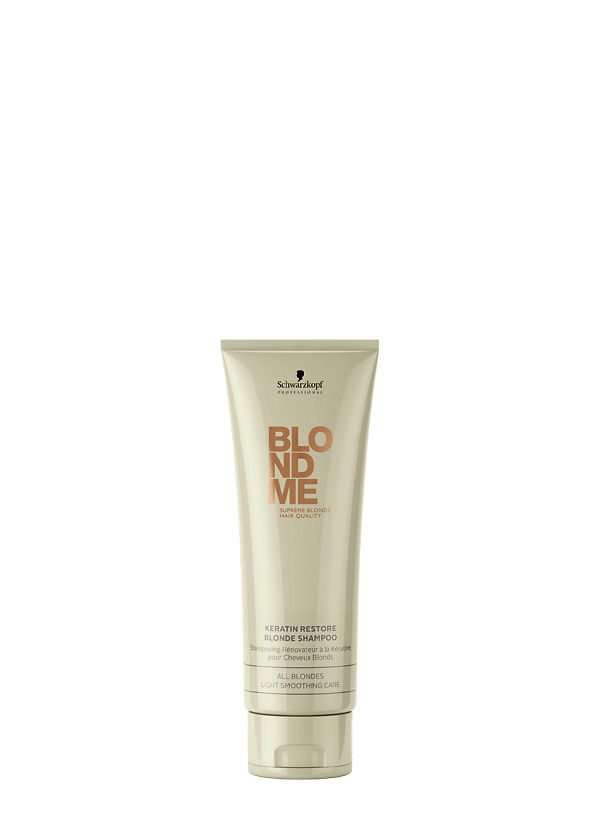 BLONDME Keratin Restore Blonde Shampoo