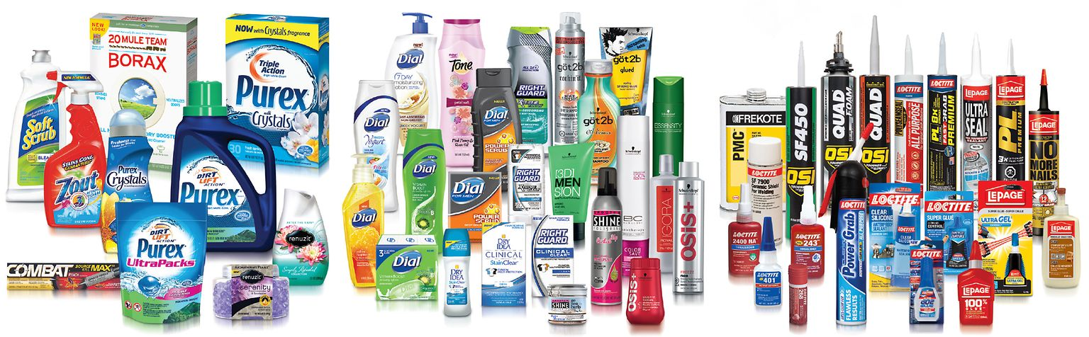 Henkel products in North America.