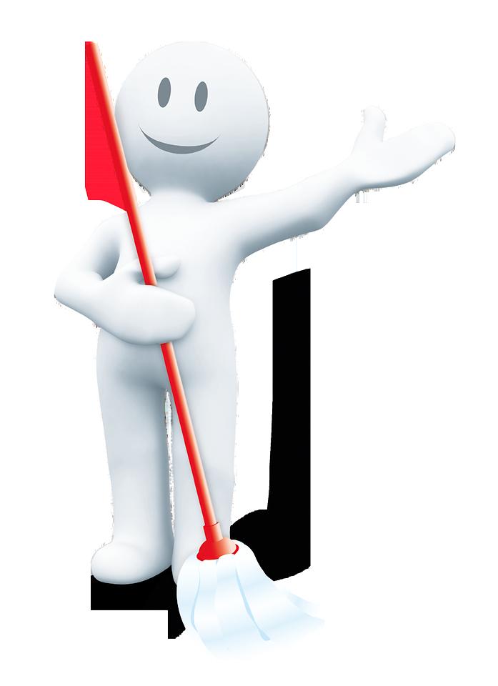 """Seit 2011 sind die weißen """"Saubermännchen"""" das Erkennungszeichen der Promotion: Sie machen sowohl auf Displays als auch auf Handzetteln und Coupons auf die Aktion aufmerksam"""