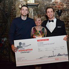 Winning team of the Henkel Innovation Challenge 7.