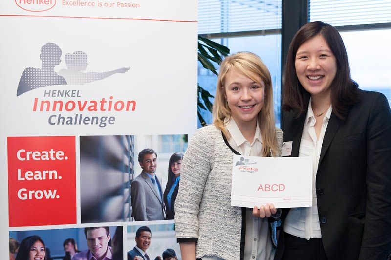 Winners of the French final of the Henkel Innovation Challgen 7.