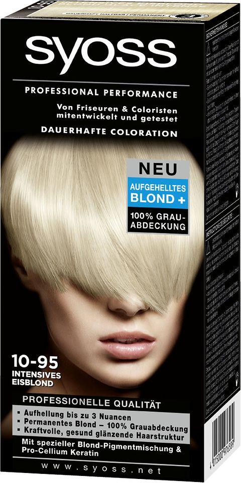 Syoss Lightening Blonds 10-95 Intensives Eisblond