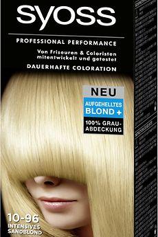 Syoss Lightening Blonds 10-96 Intensives Sandblond