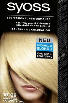 Syoss Lightening Blonds 10-98 Intensives Karamelblond