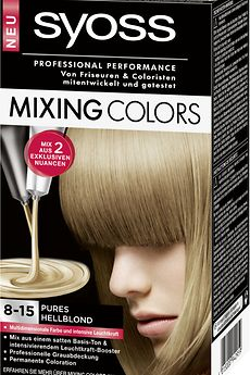 Syoss Mixing Colors 8-15 Pures Hellblond