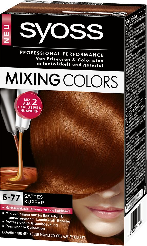 Syoss Mixing Colors 6-77 Sattes Kupfer