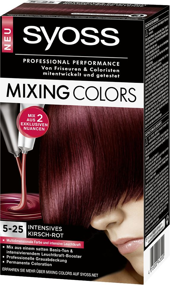 Syoss Mixing Colors 5-25 Intensives Kirsch-Rot