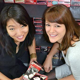 jennie-and-laura-interns-at-henkel