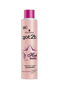 got2b Hochkaräter volumen + glanz Haarspray