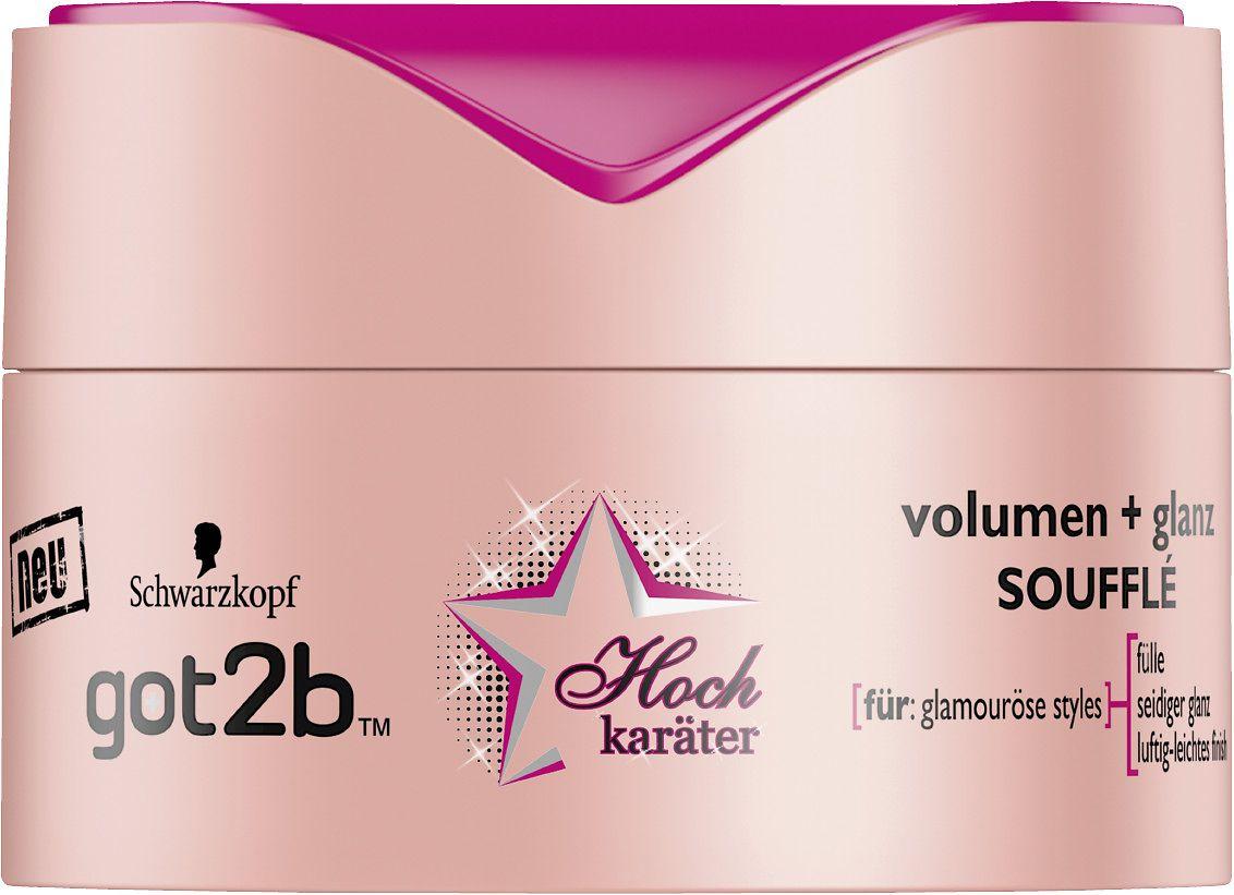 got2b Hochkaräter volumen + glanz Soufflé