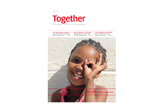 "Cover of the publication ""Together"""