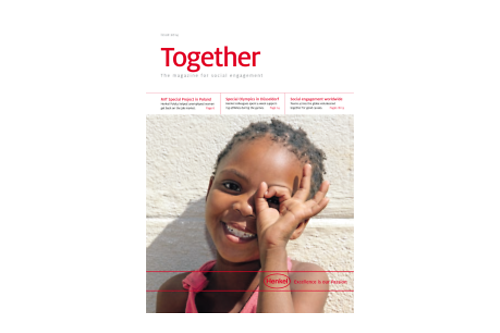"""Cover of the publication """"Together"""""""