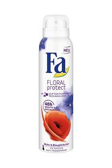 Fa Floral Protect Mohn & Blauglöckchen Deospray