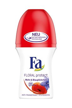 Fa Floral Protect Mohn & Blauglöckchen Roll-On