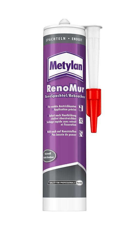 Metylan RenoMur RenoSpachtel ist ab sofort in verbesserter Qualität im Handel erhältlich