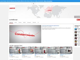 Youtube - Loctiteeurope
