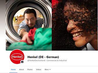 Henkel Deutschland Facebook Screen