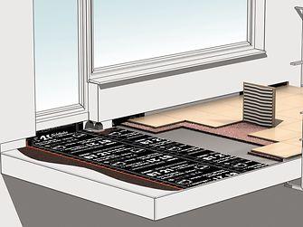 Für Balkon und Terrasse empfiehlt Ceresit einen komplett wasserfreien Systemaufbau.