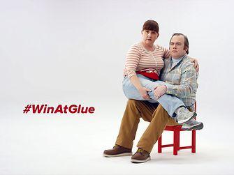 """Loctite campaign """"Win at Glue"""""""