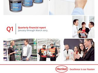 Quarterly Report Q1/2013 (Cover)